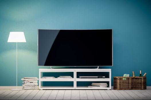 TV på TV møbel